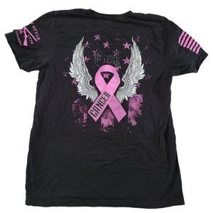 Grunt Style Breast Cancer Awareness Tee Shirt